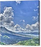 Active Volcano  Canvas Print