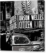 Actor Co-writer Director Orson Welles Premier  Citizen Kane Palace Theater New York  May 1 1941-2014 Canvas Print