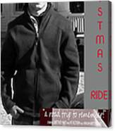 Actor In Christmas Ride Film Canvas Print
