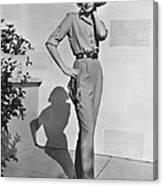 Actress Grace Kelly Canvas Print