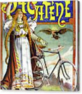 Ad Bicycles, 1898 Canvas Print