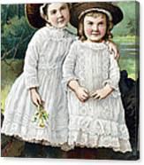 Ad: Patent Medicine, 1889 Canvas Print