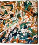 Adagietto - Exhibition Of Paintings. Belgrade. Ozone Gallery June 16-27. Canvas Print
