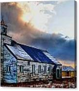 Adak Alaska Church Canvas Print