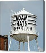 Adam Hats In Deep Ellum Canvas Print