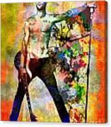 Adam Levine - Maroon 5 Canvas Print