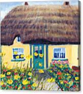 Adare Cottage Canvas Print
