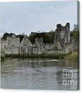 Adare Ireland Views Of Desmond Castle Canvas Print