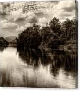 Adda River 2 Canvas Print