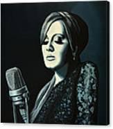 Adele 2 Canvas Print