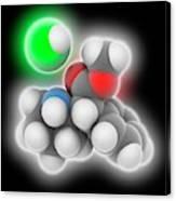 Adhd Drug Molecule Canvas Print