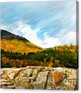 Adirondack Autumn Canvas Print