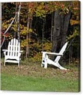 Adirondack Foliage Canvas Print