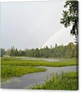 Adirondack Rainbow Treat Canvas Print