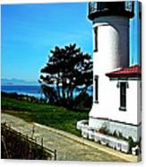 Admiralty Head Lighthouse View  Canvas Print