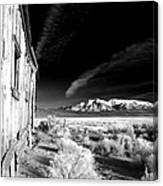 Adobe Valley Shack Canvas Print