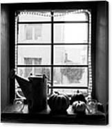 Adobe Window Autumn Still Life Canvas Print