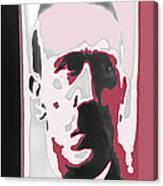 Adolph Hitler Collage Close-up Circa 1933-2009  Canvas Print
