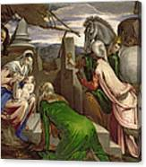 Adoration Of The Magi Canvas Print