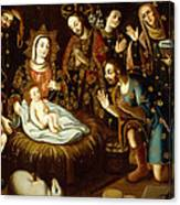 Adoration Of The Sheperds Canvas Print