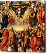 Adoration Of The Trinity Canvas Print