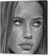 Adriana Lima 2 Canvas Print