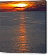 Adriatic Sunset Canvas Print