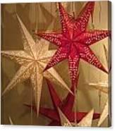 Advent Stars Canvas Print