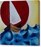 Adventure At Sea Canvas Print