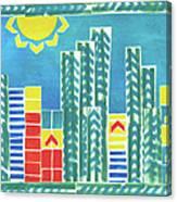 On The Sunnyside Canvas Print