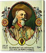 Adventures Of Buffalo Bill Canvas Print