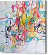 Tzadik 14 Canvas Print