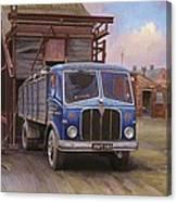 Aec Mercury Tipper. Canvas Print
