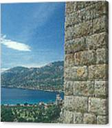 Aegosthena Fortress Canvas Print