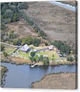 Aerial Jekyll Island Area Canvas Print