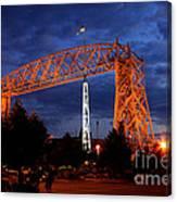 Aerial Lift Bridge Canvas Print