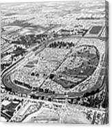 Aerial Of Indy 500 Canvas Print