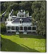 Aerial Of Jefferson Mansion Canvas Print