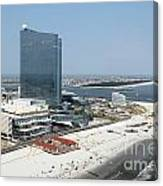 Aerial Of Revel On The Oceanfront Canvas Print