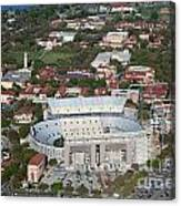 Aerial Of Tiger Stadium Canvas Print