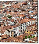 Aerial Of Venice Canvas Print