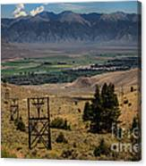 Aerial Tramway Towers Canvas Print