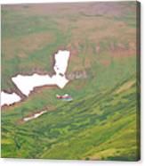 Aerial View Of Alaskan Landscape Canvas Print