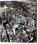 Aerial View Of London 3 Canvas Print