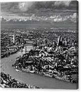 Aerial View Of London 4 Canvas Print
