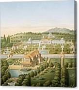 Aerial View Of The Villa Of King Canvas Print