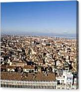 Aerial View Of Venice Canvas Print