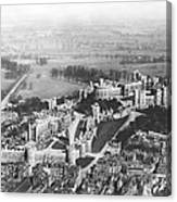 Aerial View Of Windsor Castle. Canvas Print