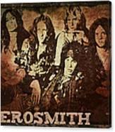 Aerosmith - Back In The Saddle Canvas Print