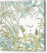 Aesop: Ant & Grasshopper Canvas Print